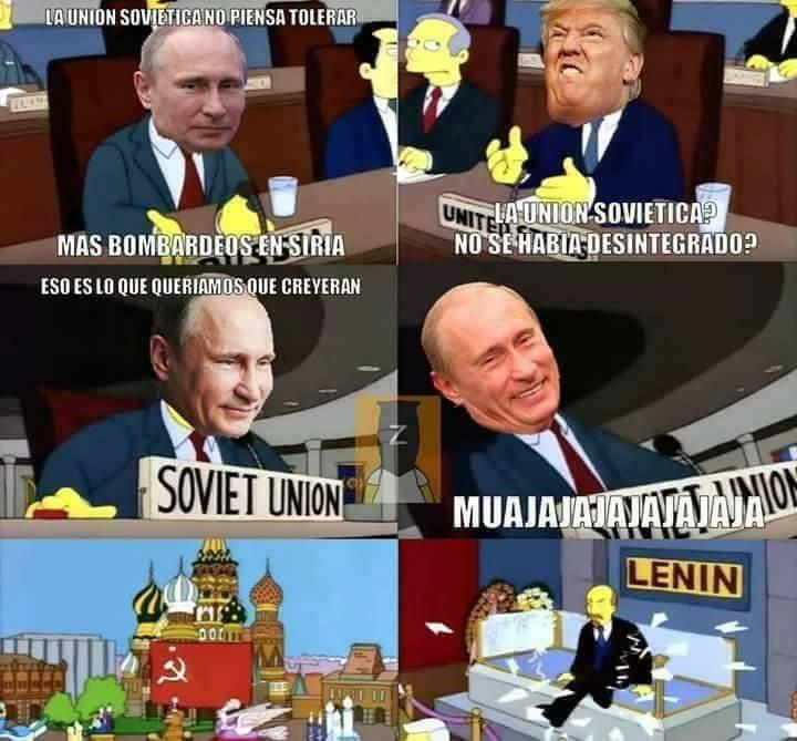 trump le dice a putin que la union sovietica se habia desintegrado