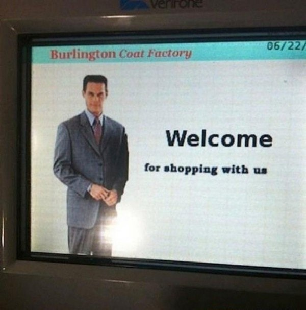 Text - erirone 06/22/ Burlington Coat Factory Welcome for ahopping with us