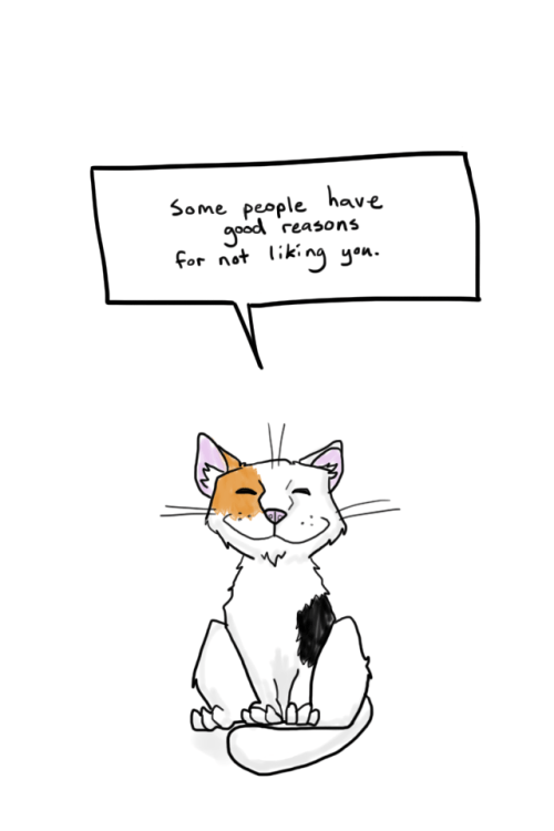 Burn meme of cat not liking some people