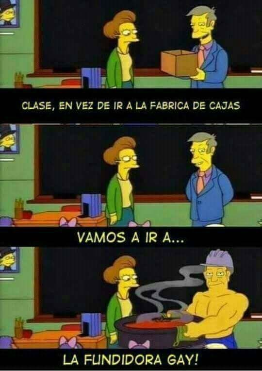 los simpsons capitulo de la fabrica de cajas con final alternativo