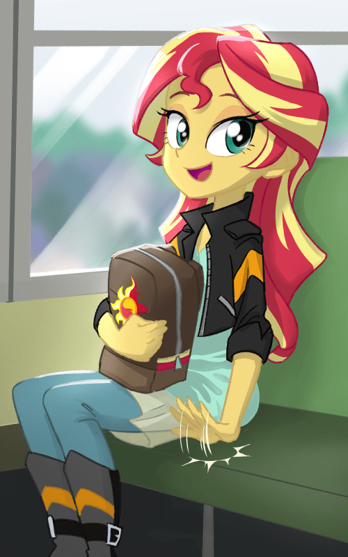 equestria girls ta-na waifu sunset shimmer - 9034451968