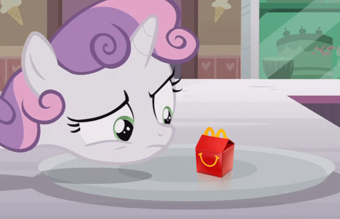 Sweetie Belle screencap McDonald's forever filly - 9034497536