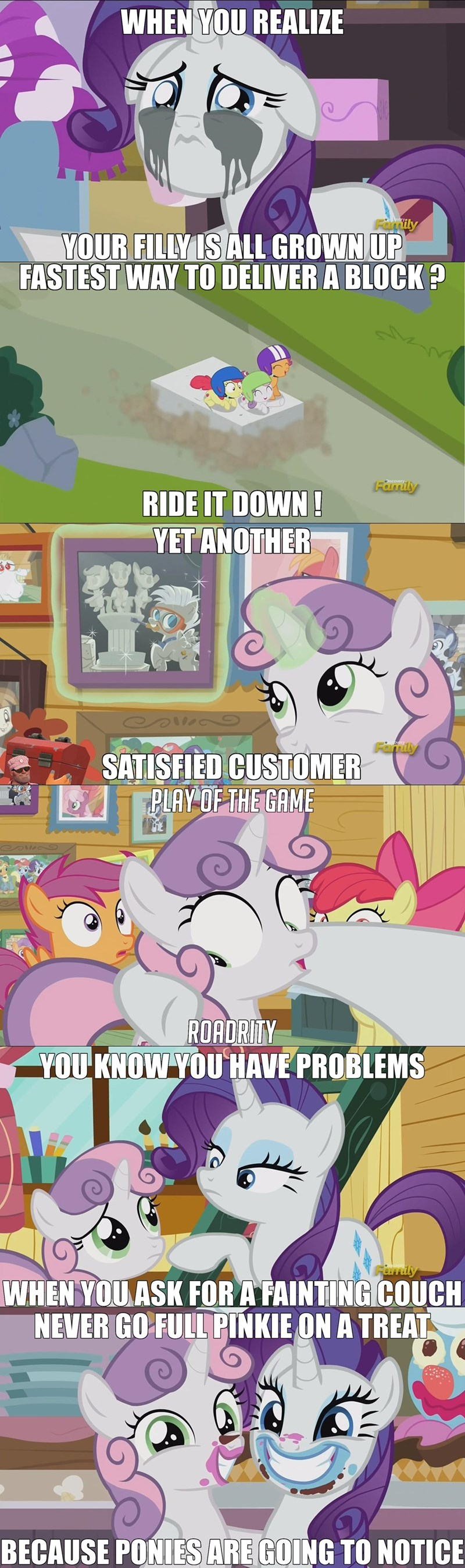 overwatch Sweetie Belle apple bloom screencap Memes forever filly rarity Scootaloo - 9034541568