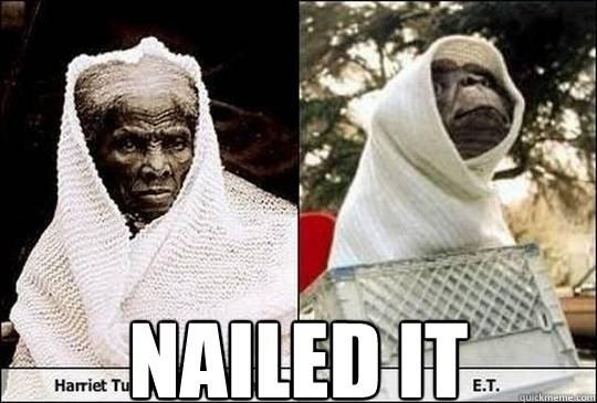 Forehead - NAILED IT Harriet Tu Е.T. quickmeme.com