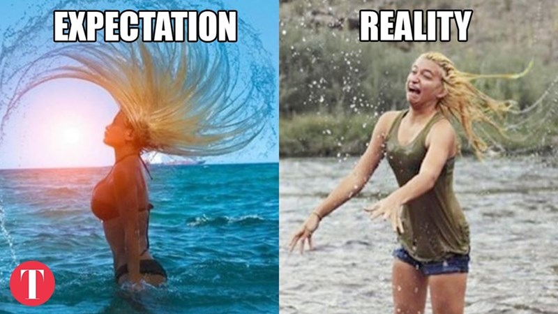 Water - REALITY EXPECTATION T