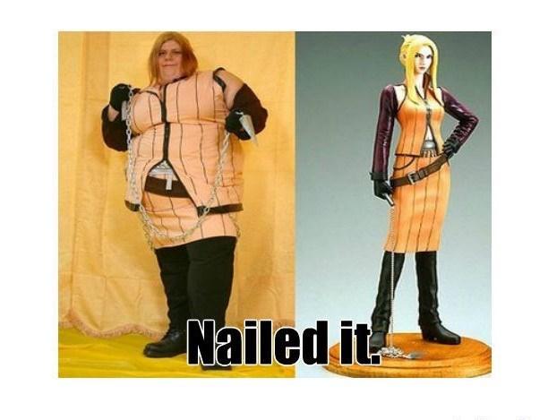 Clothing - Nailed it