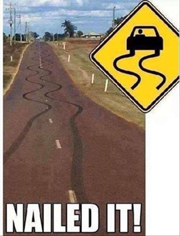 Traffic sign - NAILED IT!