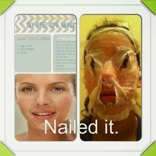 Face - TY PEEL OFF MASK WHAT YOULL NEED PROCED g hite 2 Thin TU et pe te it i y y Nalled it.