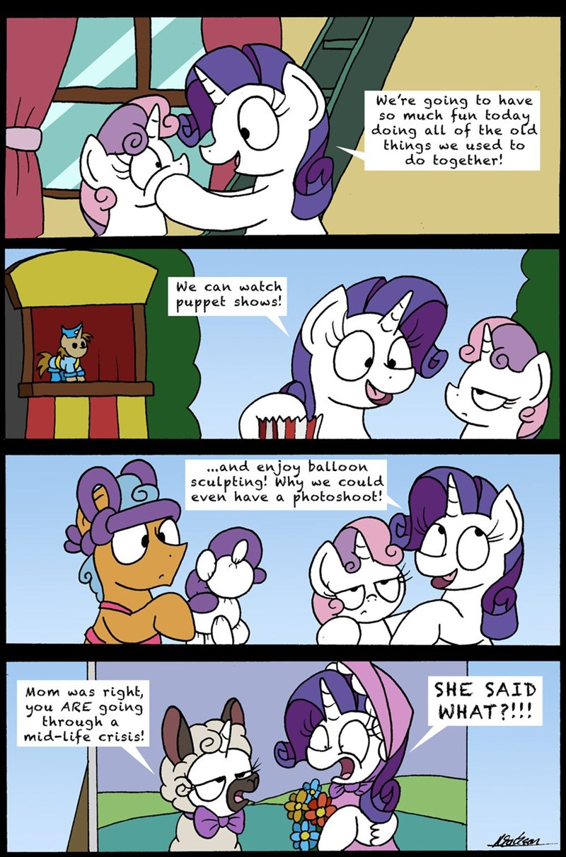 bob the dalek Sweetie Belle forever filly rarity comic - 9035019264