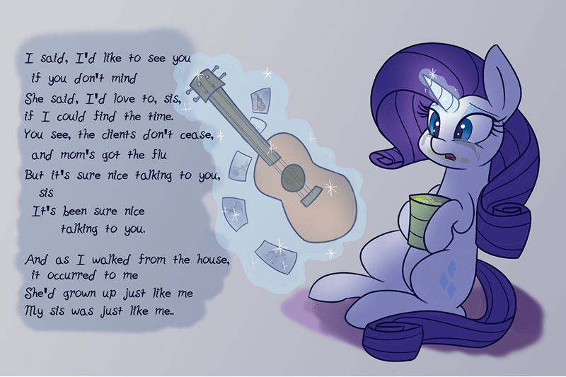 cat's in the cradle harry chapin forever filly rarity ponify heir of rick