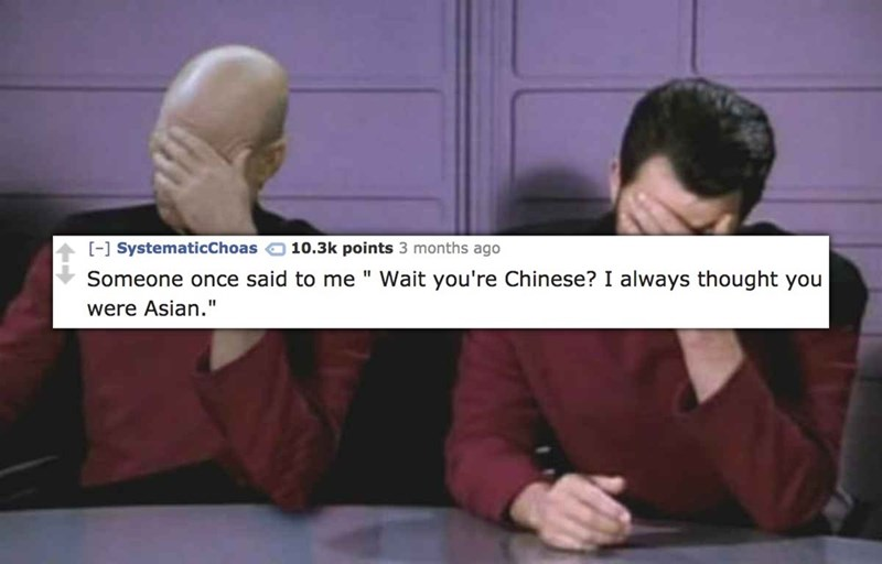 funny cringe moment Wait you're chinese
