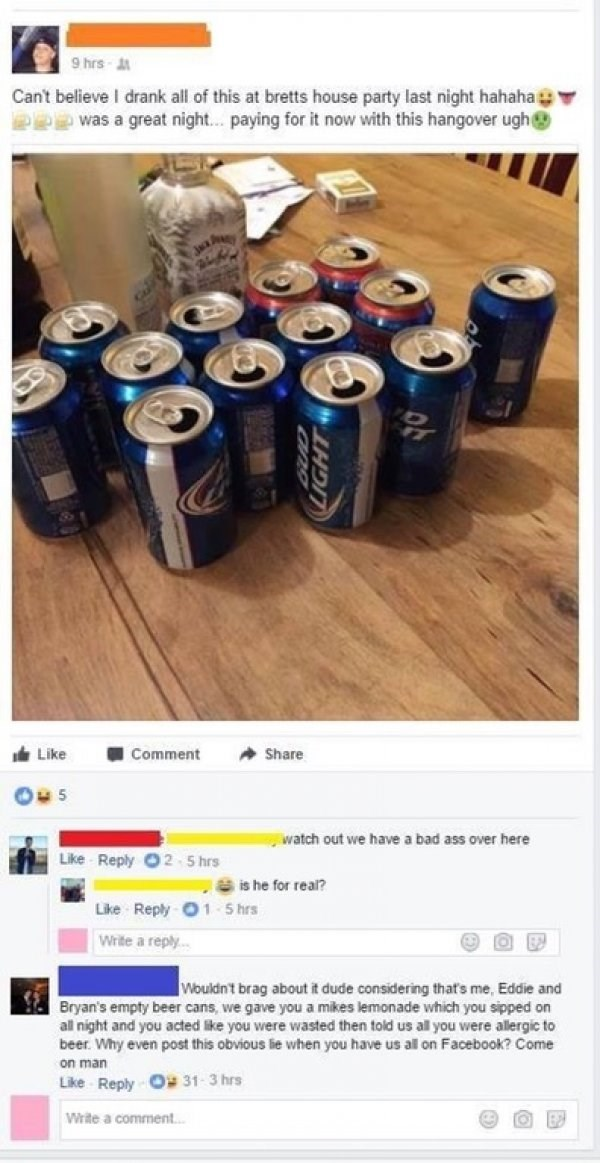 funny cringe I can't believe I drank all this beer