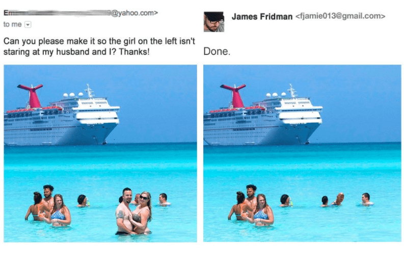 Photoshop Master Troll Fulfills Requests in the Most Hilarious Way