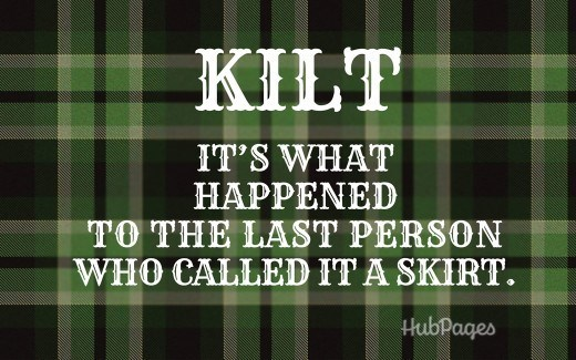Scottish tweet about the origin of the Kilt's name