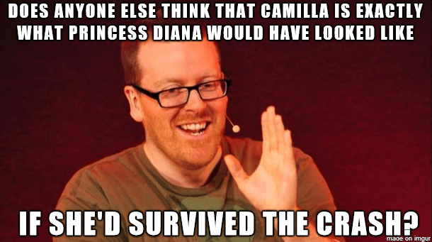 Scottish tweet about Camilla looking like Diana