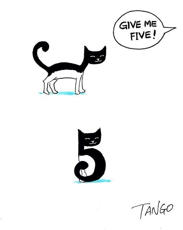 Cat - GIVE ME FIVE! TANGO