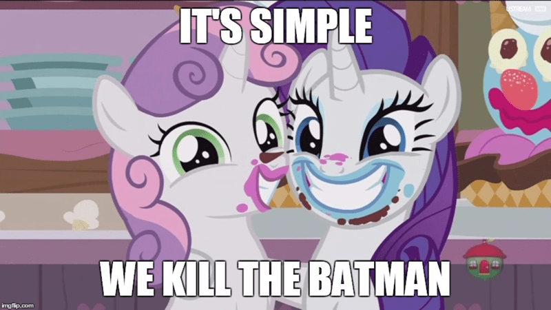 Sweetie Belle screencap forever filly rarity batman - 9035834880