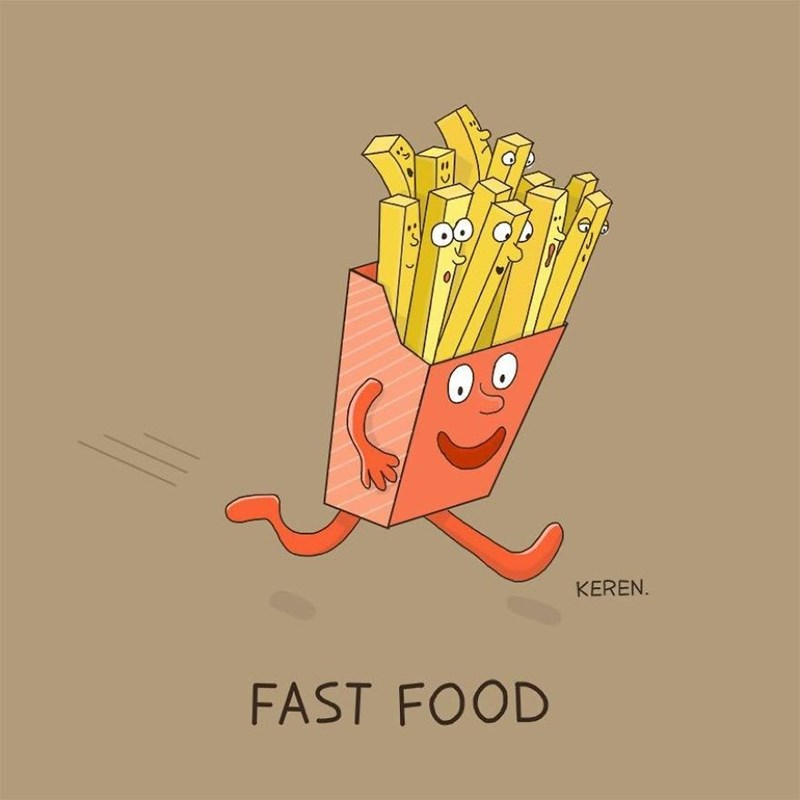 French fries - KEREN. FAST FOOD