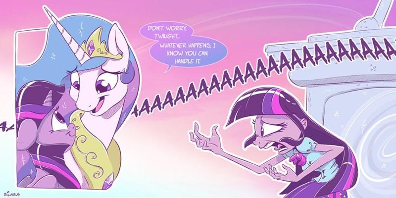 equestria girls dilarus twilight sparkle princess celestia