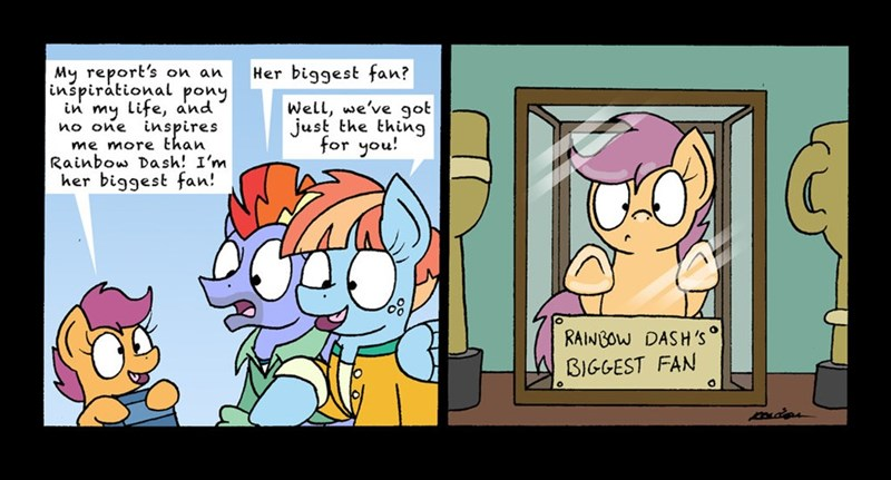 bow hothoof parental glideance bob the dalek windy whistles comic Scootaloo - 9036826624