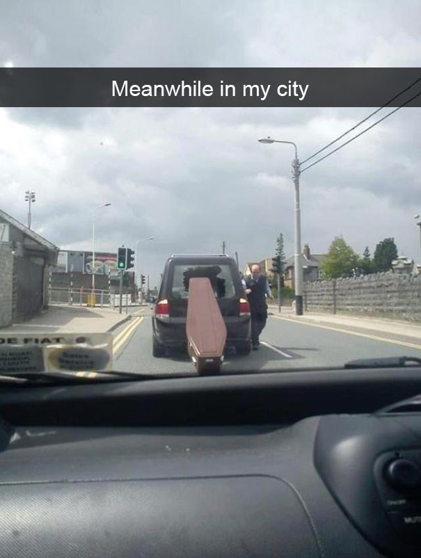 snapchat - Vehicle - Meanwhile in my city FIAT