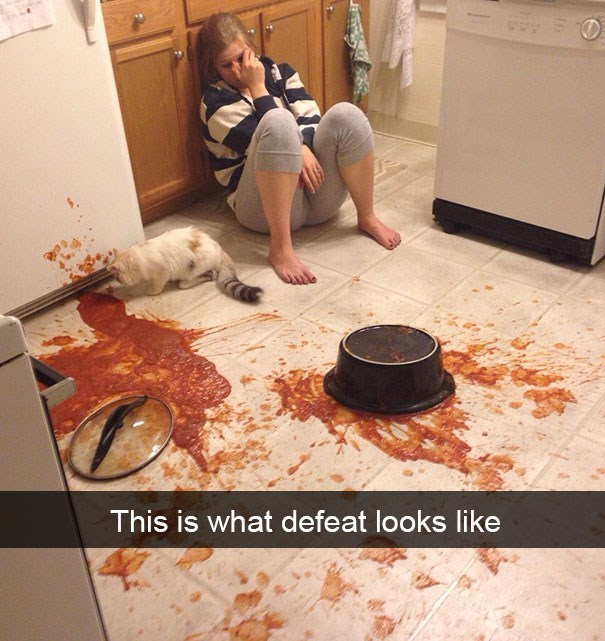 snapchat - Floor - This is what defeat looks like