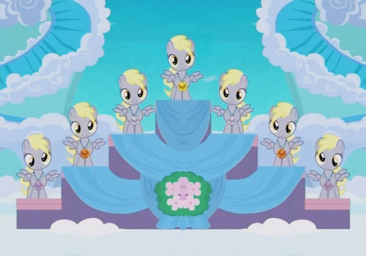 parental glideance derpy hooves screencap - 9037255168