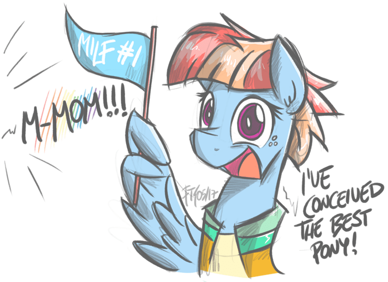 parental glideance windy whistles flutterthrash rainbow dash - 9037256192
