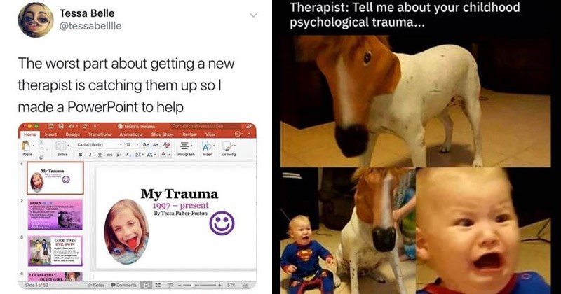 Funny memes about therapists and going to therapy