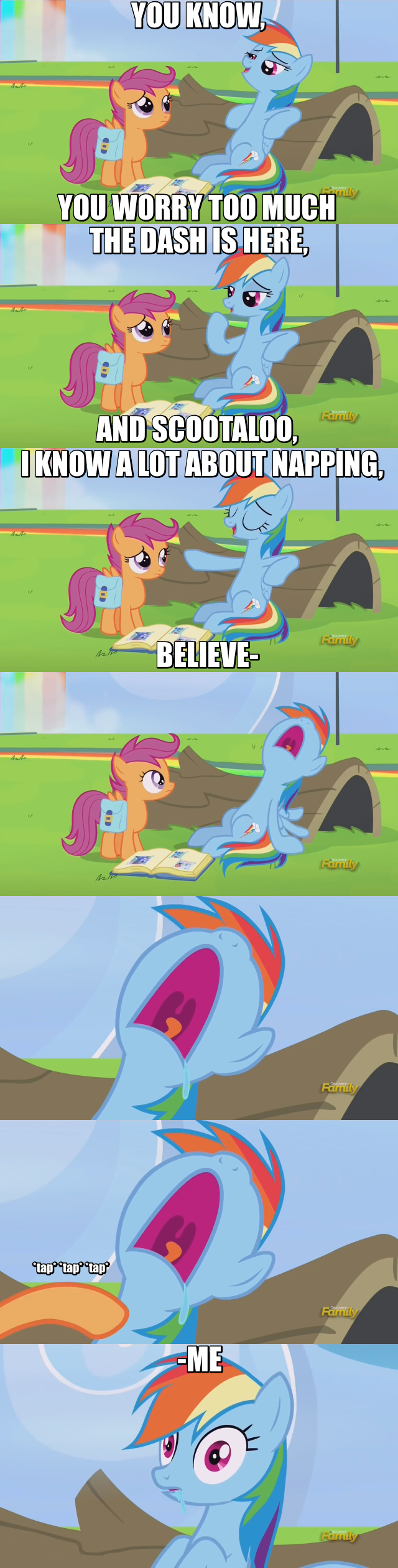parental glideance screencap SpongeBob SquarePants comic Scootaloo rainbow dash - 9037487616