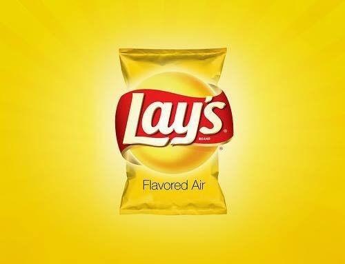 Junk food - Lays aEAND Flavored Air