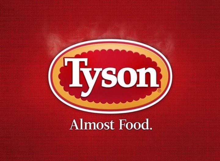Logo - Tyson Almost Food.