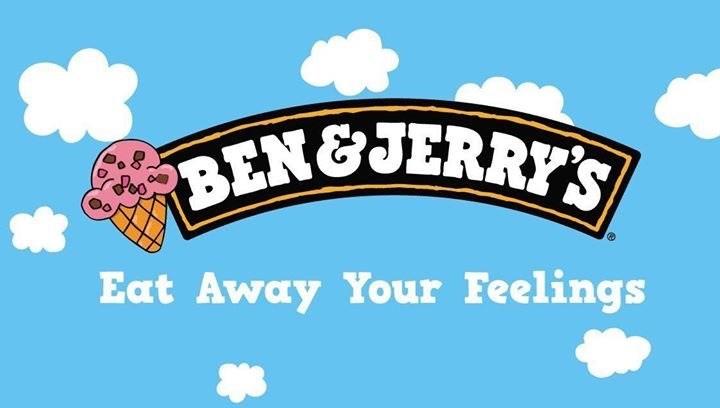 Text - BEN&JERRYS Eat Away Your Feelings