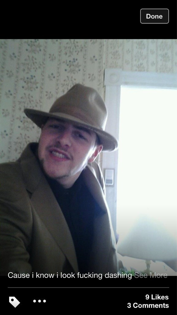 cringey neckbeard - Hat - Done Cause i know i look fucking dashing See More 9 Likes 3 Comments
