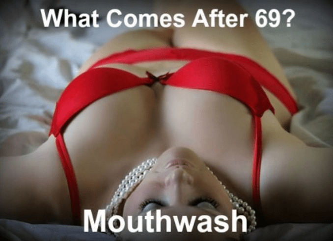 Blond - What Comes After 69? Mouthwash