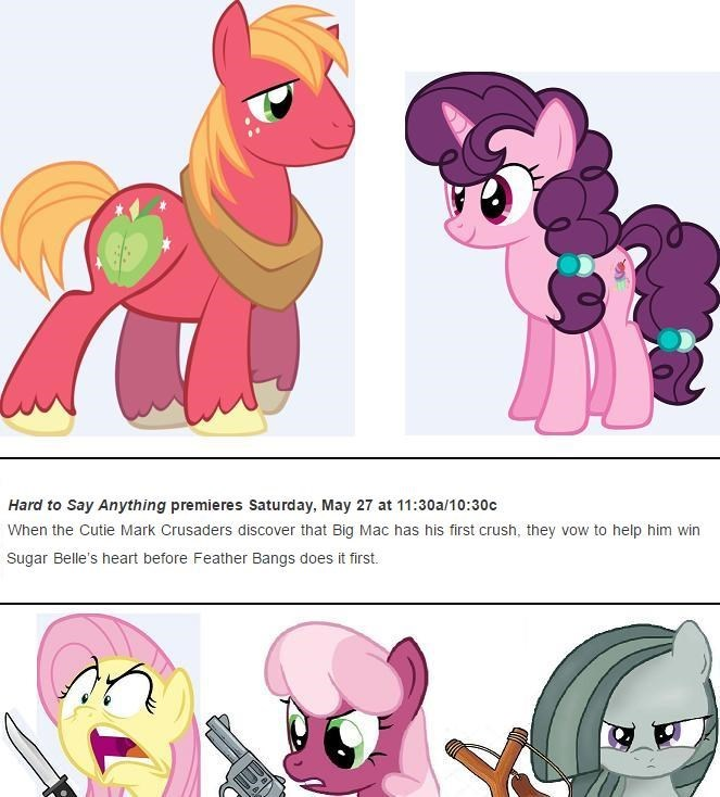 shipping marble pie sugar belle cheerilee screencap hard to say anything Big Macintosh fluttershy