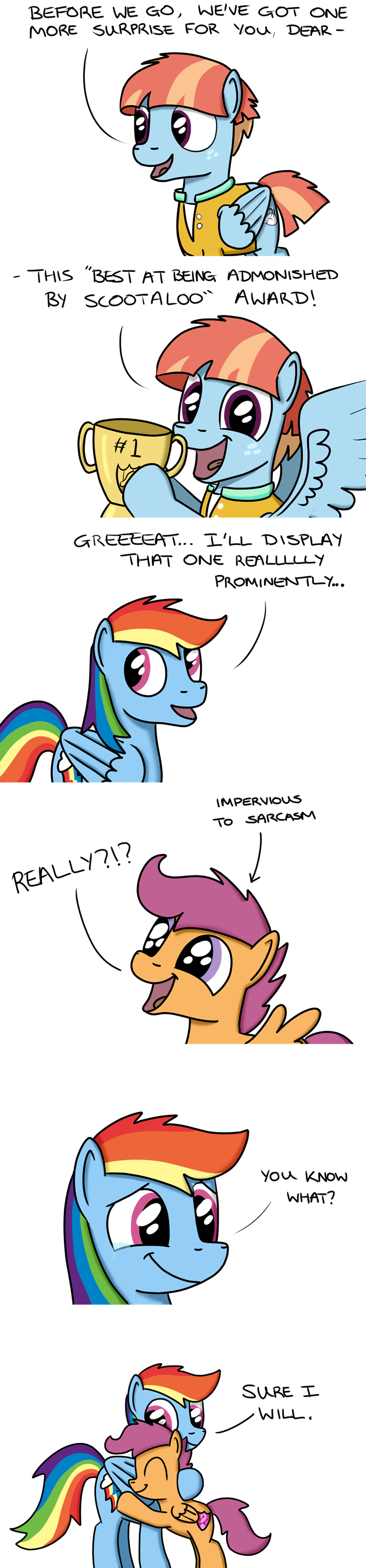parental glideance windy whistles comic Scootaloo rainbow dash hoofclid - 9038766592