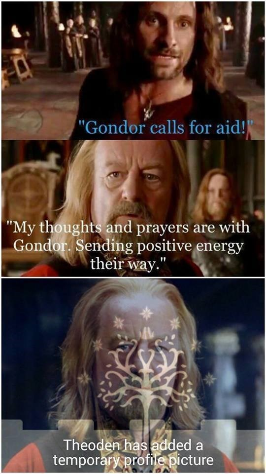 if facebook existed in lotr memebase funny memes