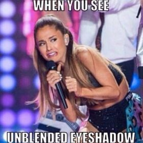Music artist - WHEN YOU SEE UNBLENDED EYESHADOW