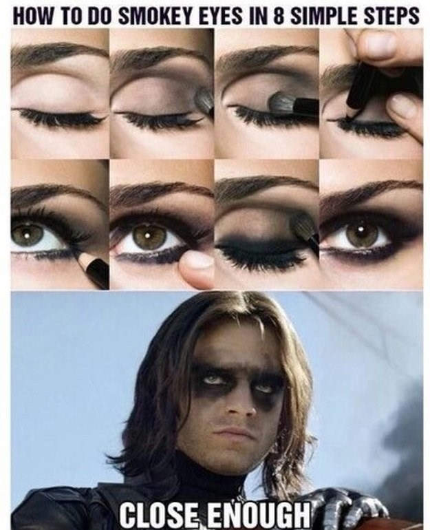 Eyebrow - HOW TO DO SMOKEY EYES IN 8 SIMPLE STEPS CLOSE ENOUGH