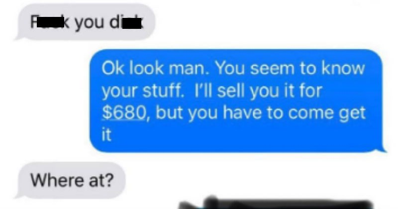 cheap choosing beggar lawnmower troll
