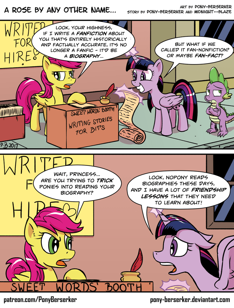 spike OC twilight sparkle pony-berserker comic - 9039599872