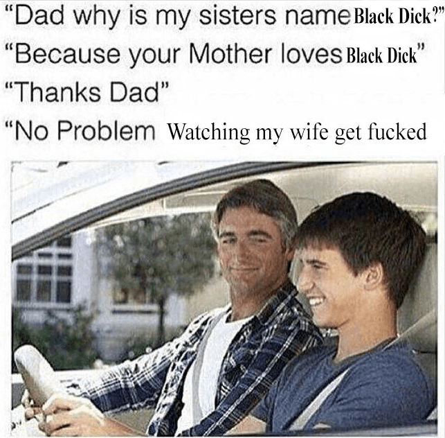 meme of a father explaining the origin of his daughters name to his son