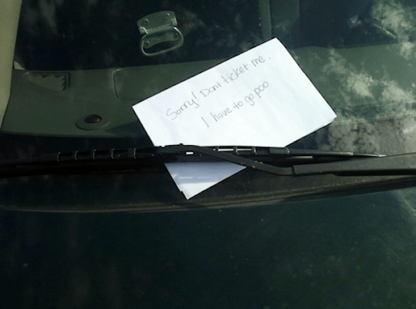 Windshield - Sorryl Dant icket me hove to go poo