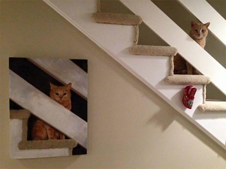 life imitates art - Stairs