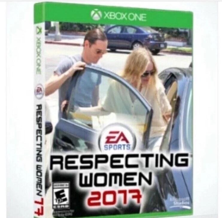 Technology - XBOXONE EA SPORTS RESPECTING WOMEN 2013 Shdios 8 XBOXONE RESPECTING WOMEN7R