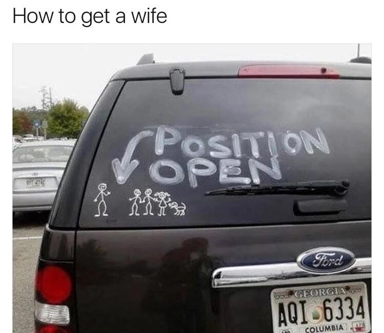 Land vehicle - How to get a wife osITION OPEN Ford GEORGIA AQI 6334 LUMBIA