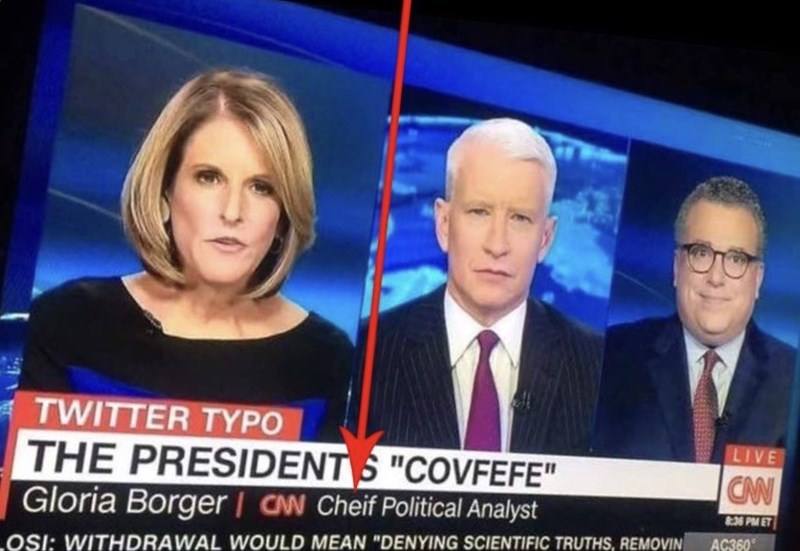 cnn misspells cheif while making fun of covfefe
