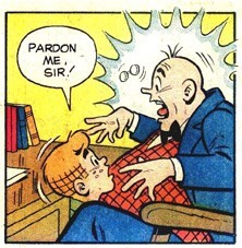 Cartoon - PARDON ME. SIR.
