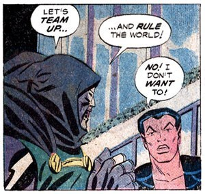 Comics - LET'S TEAM UP. ..AND RULE THE WORLD! DON'T WANT TO!